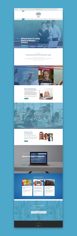 Norfolk NEU website