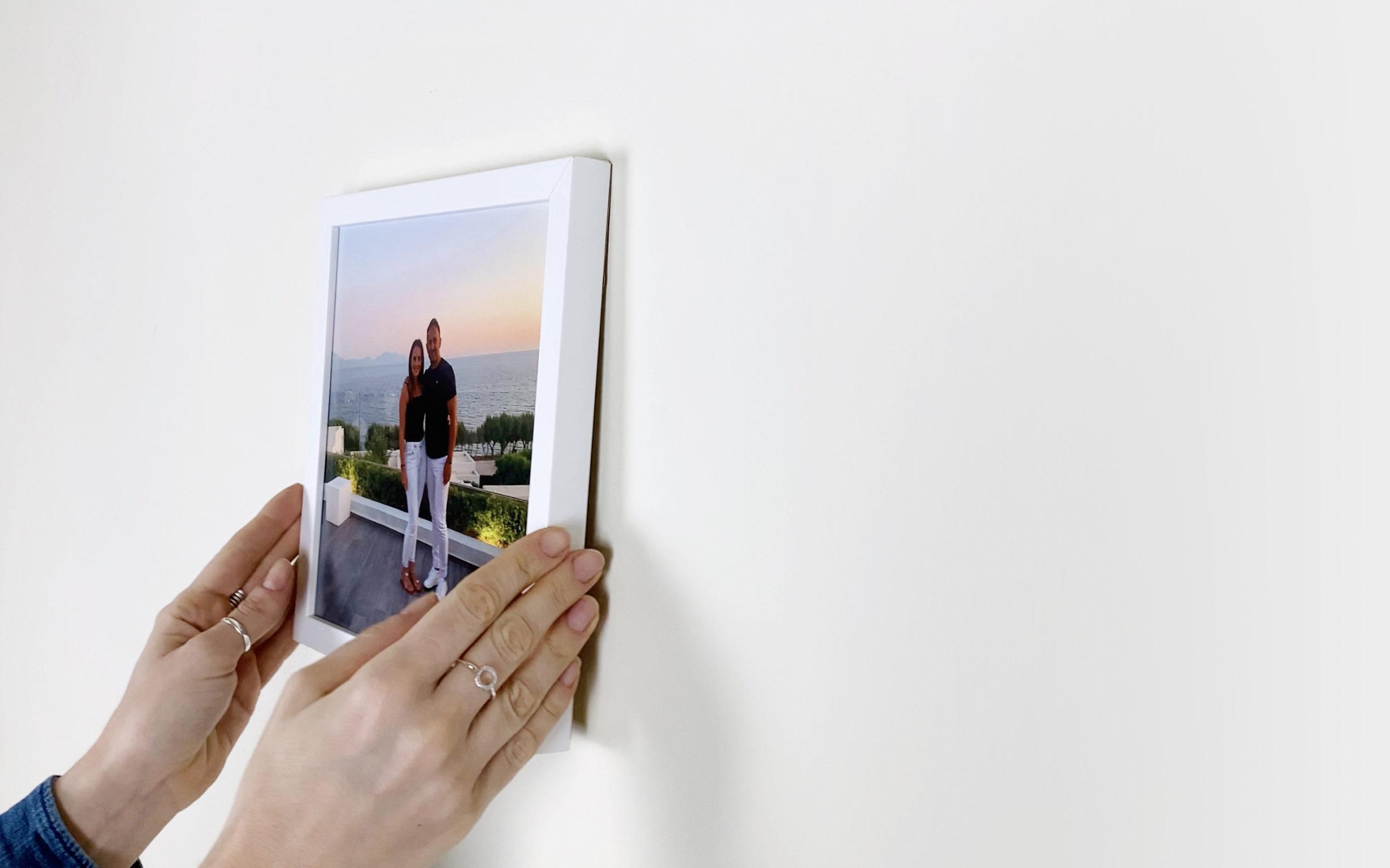 Easy stick photo tiles